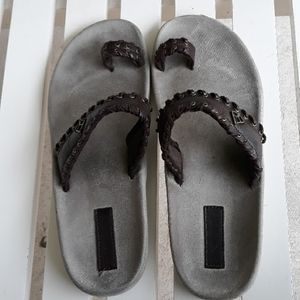 Reef sandals size 10.